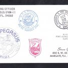 Hydrofoil Missile Patrol Boat USS PEGASUS PHM-1 Port Everglades Naval Cover