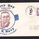 Destroyer USS BIDDLE DD-151 NAVY DAY 1932 Naval Cover