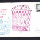 Submarine USS LAFAYETTE SSBN-616 FIRST ANNIVERSARY Naval Cover