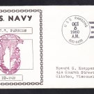 Destroyer USS PARSONS DD-949 Naval Cover