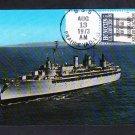Destroyer Tender USS PRAIRIE AD-15 Ship Postcard Naval Cover