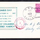 Destroyer USS BAGLEY DD-386 Columbus Day 1937