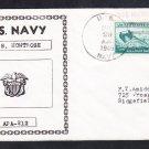 Attack Transport USS MONTROSE APA-212 SL Cancel 1946 Naval Cover