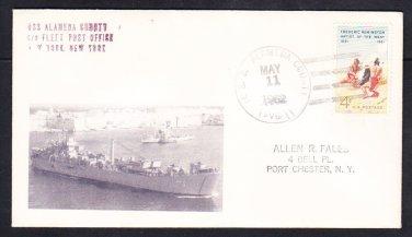 Aviation Base Ship USS ALAMEDA COUNTY AVB-1 MhCachets 1 Made