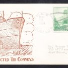 Destroyer USS CHILDS DD-241 We Protected The Convoys Armistice Day Naval Cover