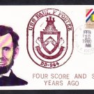 Destroyer USS PAUL F. FOSTER DD-964 Lincoln's Birthday Naval Cover