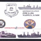 Ammunition Ship USS NITRO AE-2 AE-23 Ship's REUNION Naval Cover