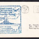 USCG US COAST GUARD BASE 21 142nd Anniversary St. Petersburg FL Naval Cover