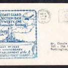 USCG US COAST GUARD BASE 21 142nd Anniversary St. Petersburg FL Naval Cover