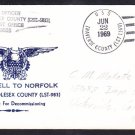 Tank Landing Ship USS MIDDLESEX COUNTY LST-983 DECOMMISSIONING Naval Cover
