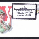 Battleship USS MISSOURI BB-63 65th Anniversary VJ DAY Patriotic Naval Cover