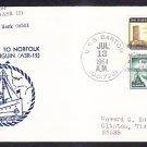 Submarine Rescue Ship USS PENGUIN ASR-12 Visit to Norfolk VA Naval Cover