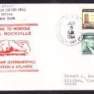 Patrol Ship USS ROCKVILLE EPCER-851 New Home Port Norfolk Naval Cover