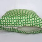 Green Star Accent Pillow