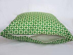 Green Star Accent Pillow