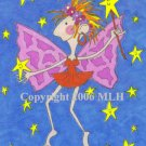 Fairly Ugly Fairy (aceo print)