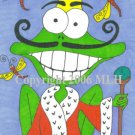 His Royal Frogness (aceo print)