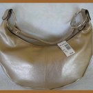 Fashion Express Gold Hobo Style Handbag, Purse - w/$40 Original Tag - FREE Shipping