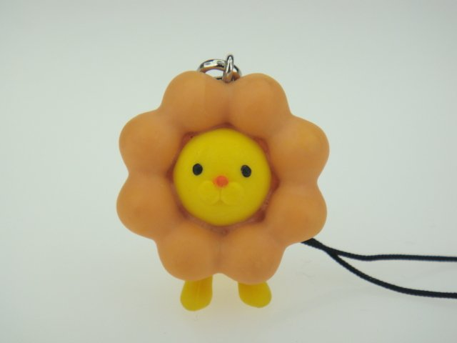 Japanese Mister Donut Shop Lion Figure Phone Charm Strap
