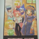 Japanese Shaman King Doujin Fanart Double Sided Letter Paper Writing Paper x4 pages H008