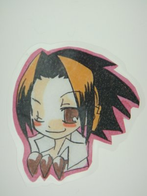 Japanese Shaman King Doujin Fanart Bookmark I001