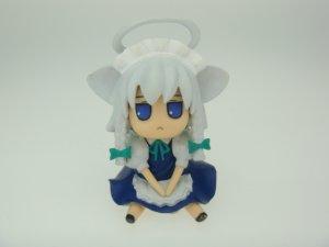Japanese Touhou Project Sakuya Izayoi Inusakuya Blue Eyes ver Figure