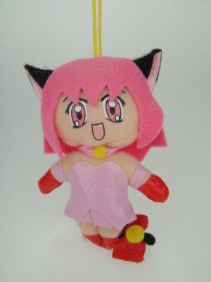 Japanese Anime Hot Sexy Cat Girl Pussycat Kitty Woman Figure Fluff Plush DOLL Phone Charm Strap