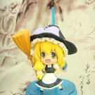 Japanese Pink Company Touhou Project Vol.1 Marisa Kirisame Figure Phone Charm Strap Keychain