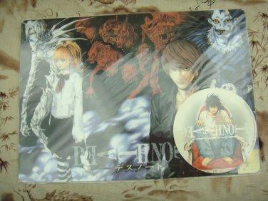 Japanese Anime Jump Festa 2005 Death Note Desk Pad