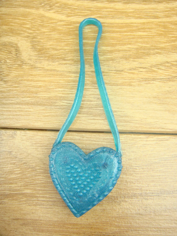 Monster High Barbie Doll Blue Heart Package Bag
