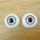 BJD Doll Acrylic Eyes 14 mm / 8 mm Size Pink Blue