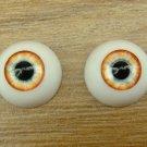 BJD Doll Acrylic Eyes 14 mm / 8 mm Size Blue Yellow