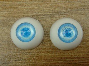 BJD Doll Albino Acrylic Eyes 14 mm / 8 mm Size Blue