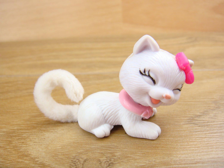 Marie Kitty Cat Pussycat Fluff Plush Tail Shaking His Head Figure