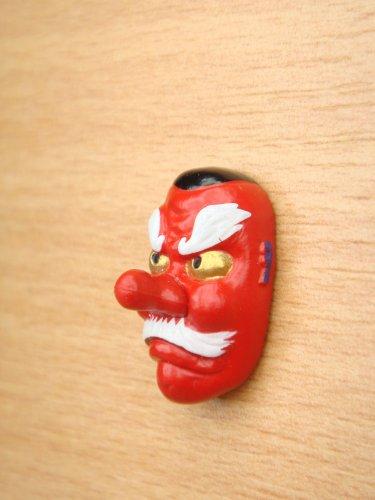 Japanese Mini Noh Mask Tengu Kabuki Kagura Traditional Mask Model Figure