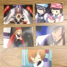 Japanese Anime Jump Shaman King Card x5 pages L003