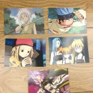 Japanese Anime Jump Shaman King Card x5 pages L005