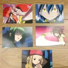Japanese Anime Jump Shaman King Card x5 pages L006