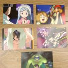 Japanese Anime Jump Shaman King Card x5 pages L007