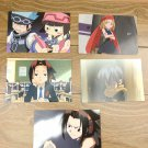 Japanese Anime Jump Shaman King Card x5 pages L013
