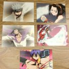 Japanese Anime Jump Shaman King Card x5 pages L016