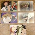 Japanese Anime Jump Shaman King Card x5 pages M004