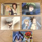 Japanese Anime Jump Shaman King Card x5 pages M005
