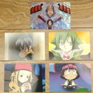 Japanese Anime Jump Shaman King Card x5 pages M012