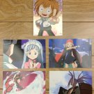 Japanese Anime Jump Shaman King Card x5 pages M019