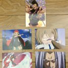 Japanese Anime Jump Shaman King Card x5 pages M022