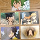 Japanese Anime Jump Shaman King Card x5 pages M024
