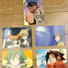 Japanese Anime Jump Shaman King Card x5 pages M028