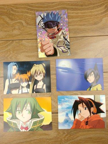 Japanese Anime Jump Shaman King Card x5 pages M028