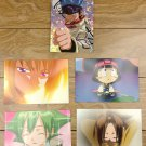Japanese Anime Jump Shaman King Card x5 pages M029